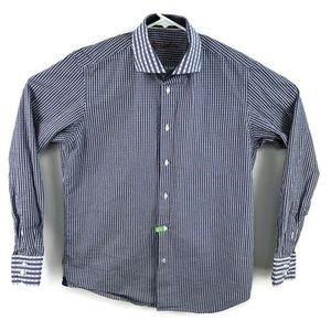 Robert Graham Button Down Shirt Thick Cotton